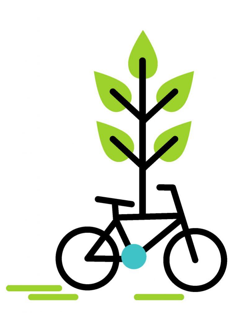 fiets, energie, groen